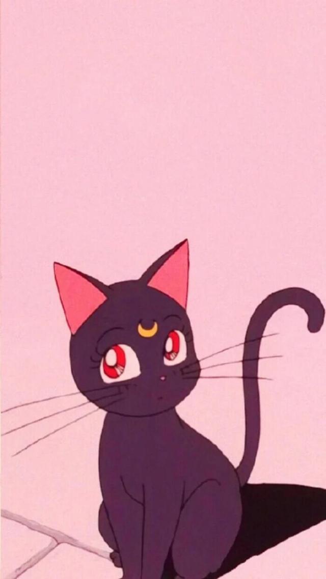 小黑猫卡通图片大全