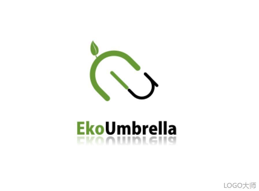 雨伞元素logo设计合集