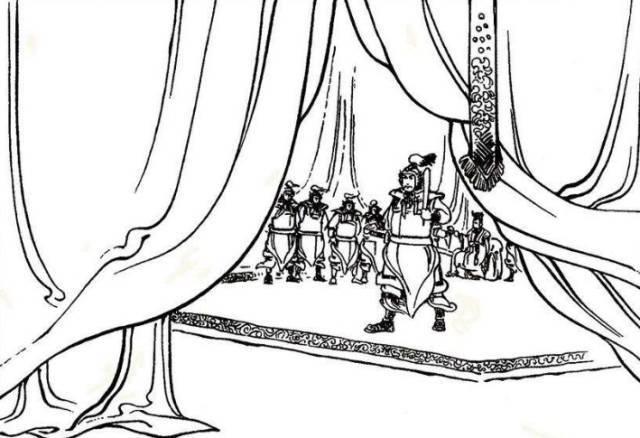 滩坂舞堕落的�zfjy��:e9df_【经典连环画系列】项羽传之七:广武涧 太公缚爼