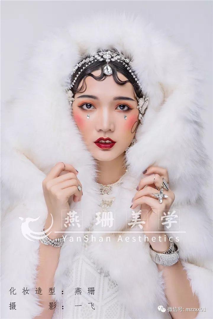 新娘手绘妆面效果图