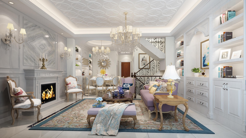 客厅装修效果图欣赏现代简约风格图片