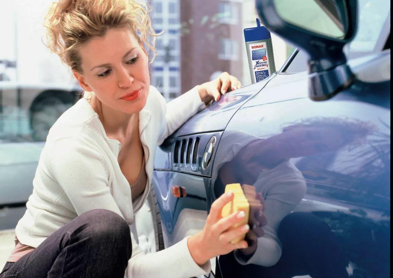 车漆保护方法