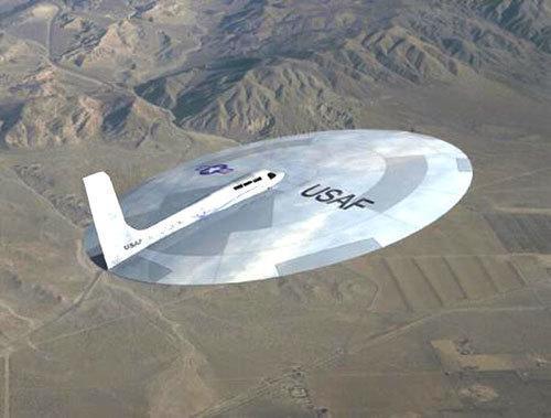 美国碟型飞行器