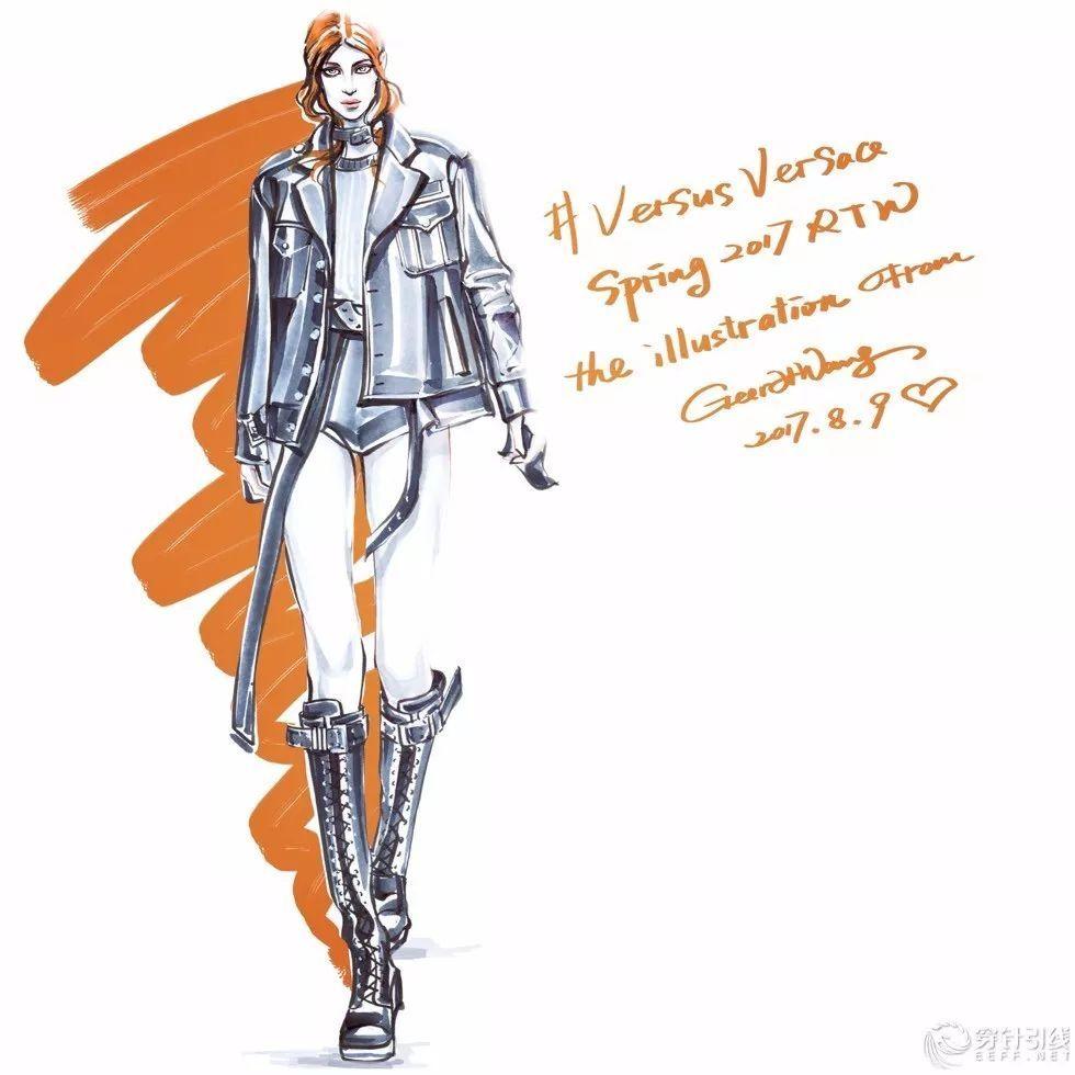 hg时装插画 | 马克笔时装手绘