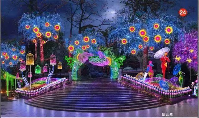 2018年惠城区西湖花灯博览会来啦!快来看看都有哪些看点图片