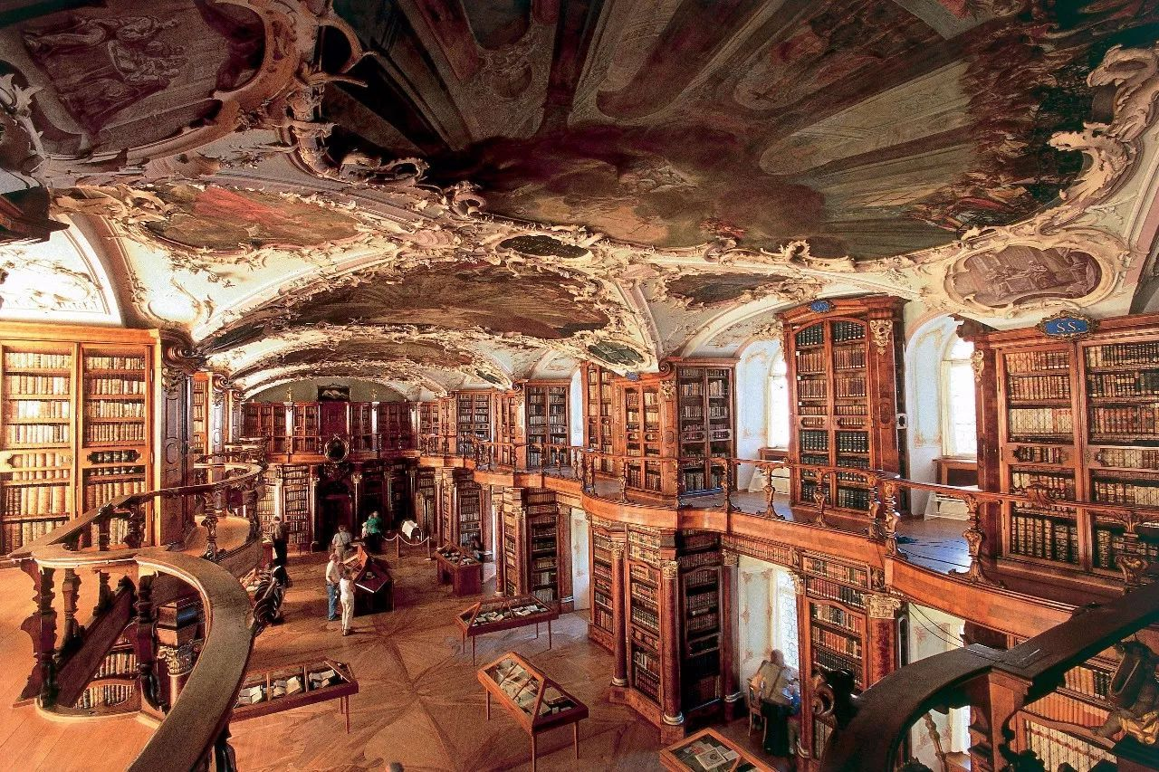 【建筑】世界上最美的图书馆,有生之年一定要去!