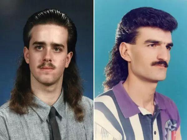 历史上「最糟糕」的男士发型长这样图片