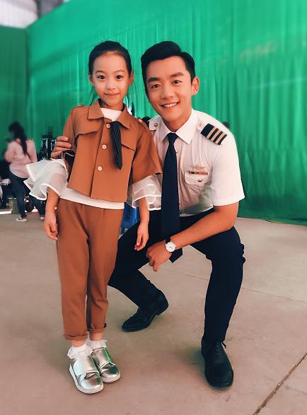 万子晴客串郑凯 陈乔恩主演的大戏《壮志高飞》