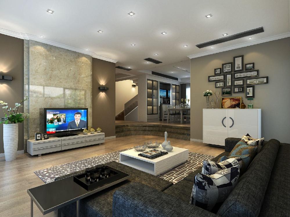 客厅装修效果图欣赏现代简约风格