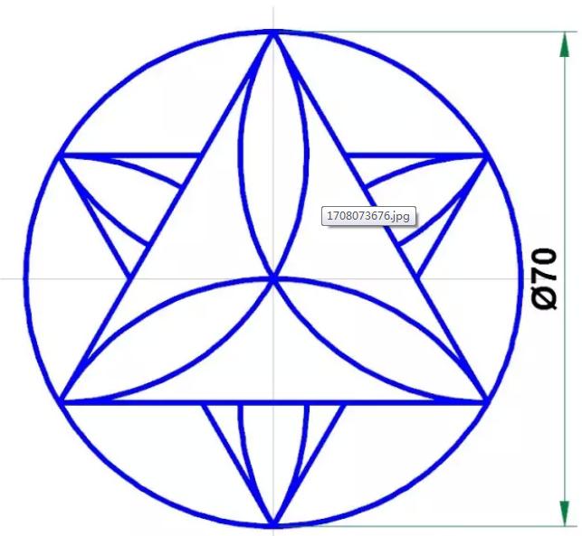 CAD小白到大神的第一课,CAD经典练习图之图文讲解
