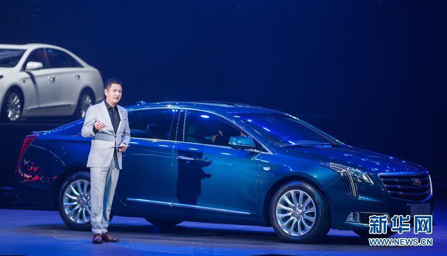 凯迪拉克发布新一代xts汽车