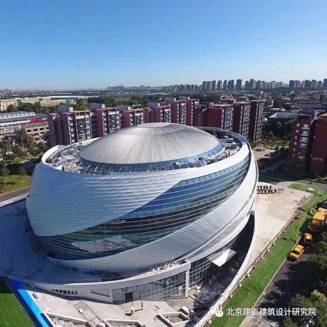 高校基建 | 北京建筑大学新体育馆:钢网壳屋顶超级