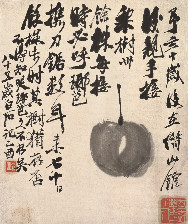 舌尖上的中国--美食爱好者齐白石这样来画秋冬的味道