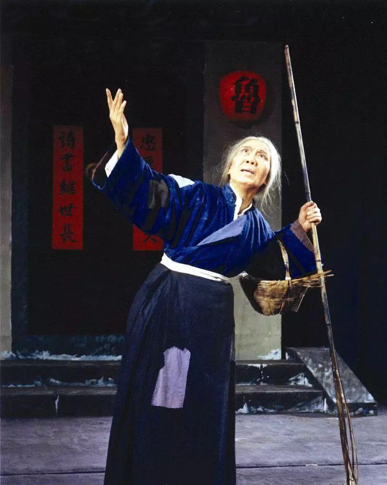 《祥林嫂》袁雪芬饰祥林嫂(1978年)图片
