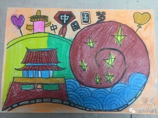 小学生……用一幅幅美丽的图画表达了每一个红领巾心中的中国梦.