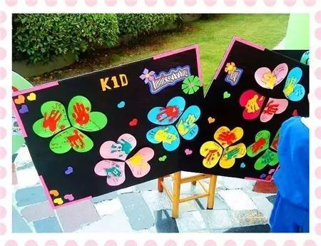 干货| 幼儿园感恩节环创 墙面设计 手工制作大全