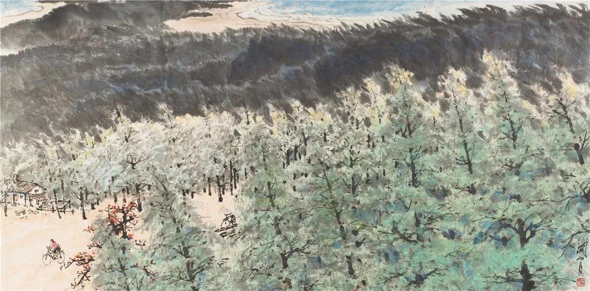除了《江山如此多娇》,关山月还画过这些作品图片