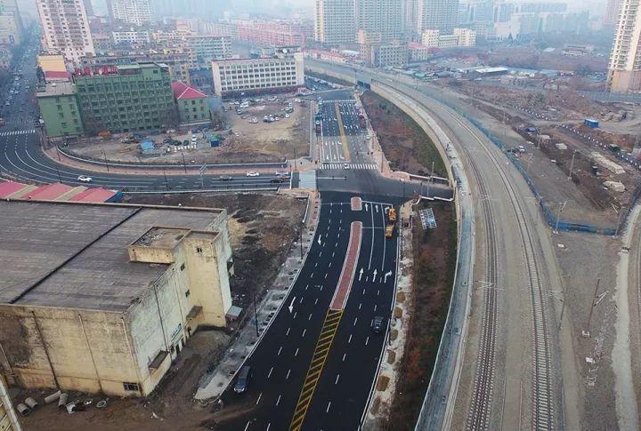 区育工街_据了解,哈尔滨市道里区地工街打通项目去年7月启动,该项目征收范围