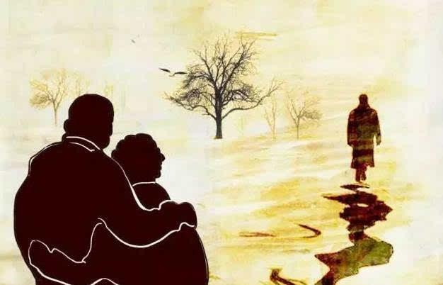 的�9��_所谓父母,就是那不断对着背影既欣喜又悲伤,想追回拥抱又不敢声张的人