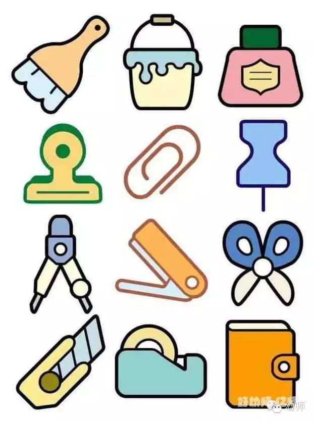 幼儿园彩色简笔画大全(1000多种)