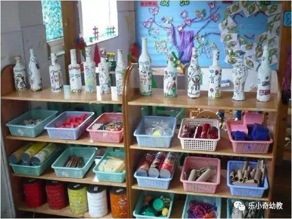 幼儿园的美工区就该这样做,都帮你想好啦!图片