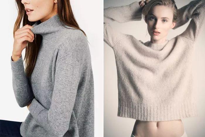 怎么穿都美秋冬衣橱必备的6款毛衣!