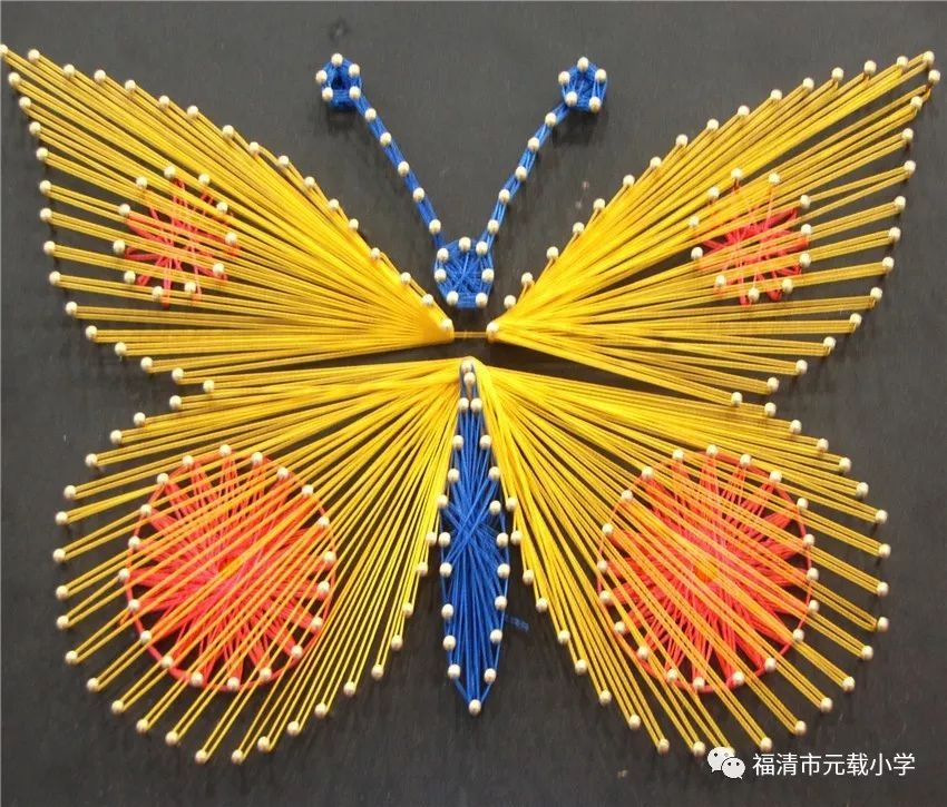纽扣手工制作昆虫