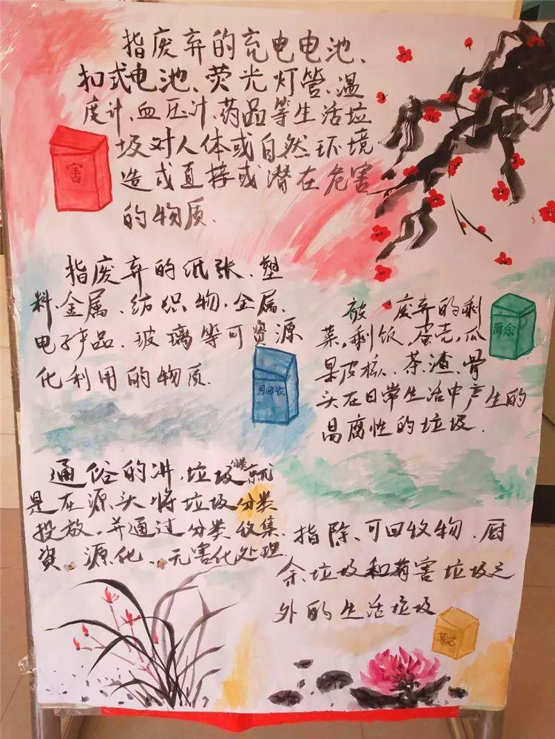 学生手绘宣传海报