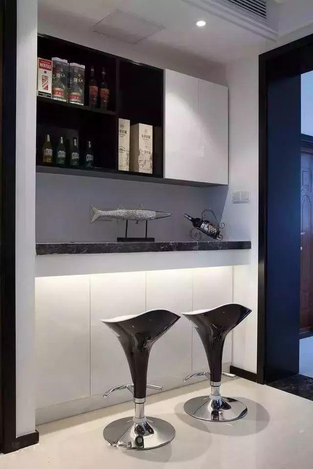 简装吧台效果图
