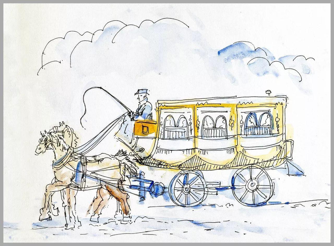 法国手绘简笔画
