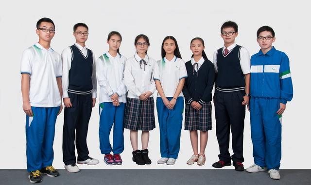 我国各省中学校服大比拼,谁的颜值最高图片