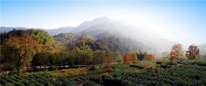秋天的童话全都在安徽这个地方!彩虹+瀑布+秋这里已经美的不像话!