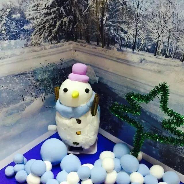 幼儿园冬天创意挂饰手工制作,美到爆!