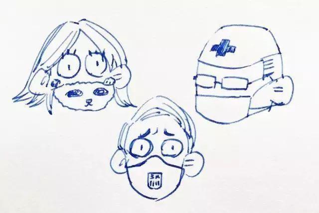 动漫 简笔画 卡通 漫画 手绘 头像 线稿 640_427