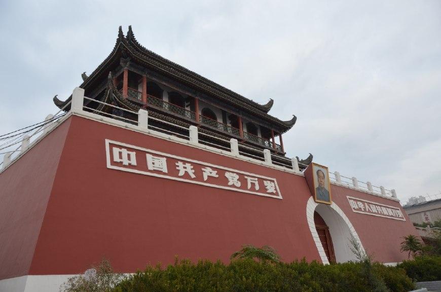 """银川和北京有何相似之处?都有一座""""天安门"""""""