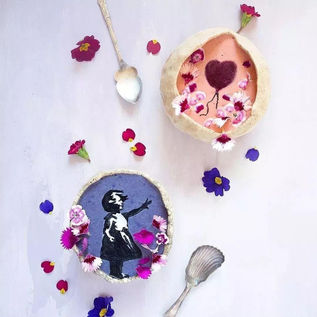 真 妙笔生花 看腻千遍一律的拉花了么 新西兰艺术家hazel zakariya新操作,原来奶昔上也有 童话世界