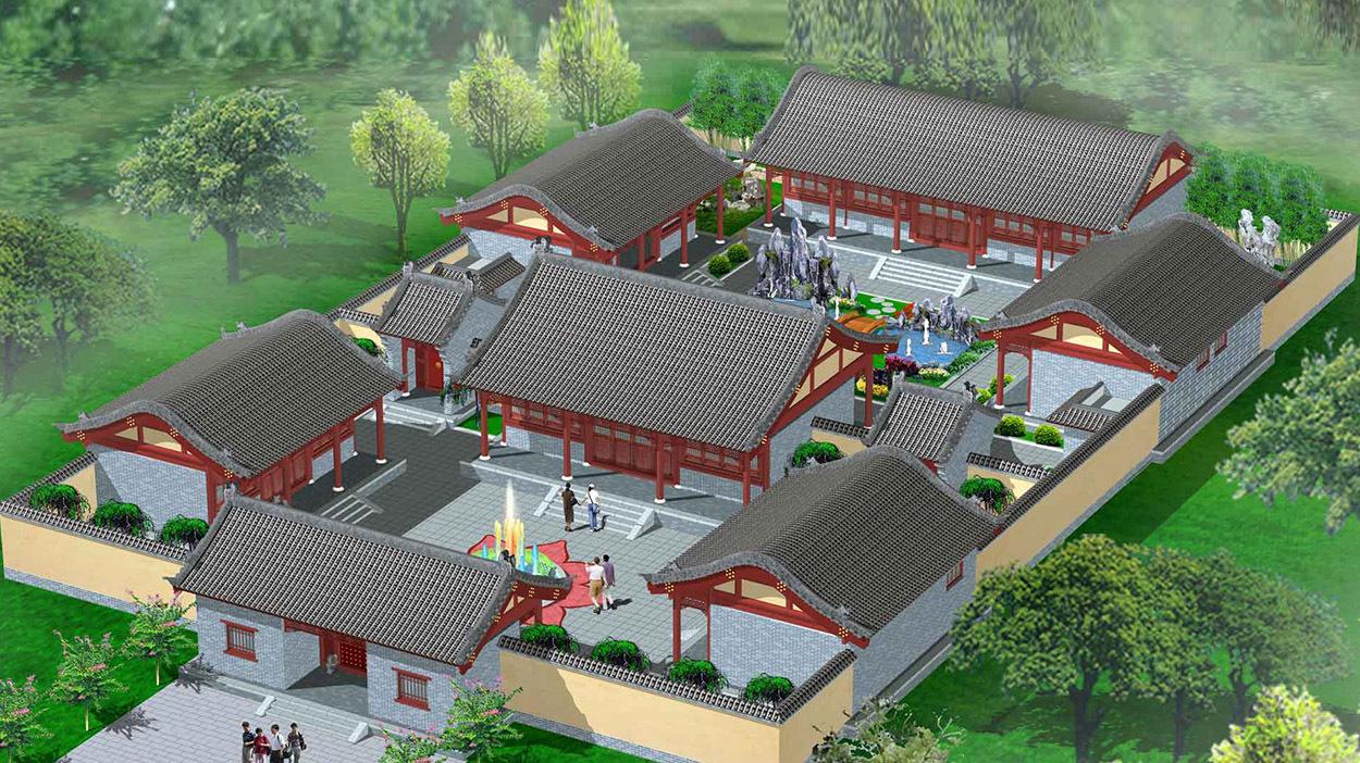 嘉禾田分享:现代四合院别墅设计的因素有哪些?
