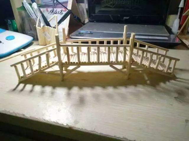 筷子手工制作桥图解