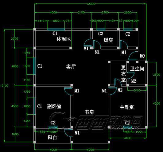 cad室内平面图绘制教程,只要五步便能完成