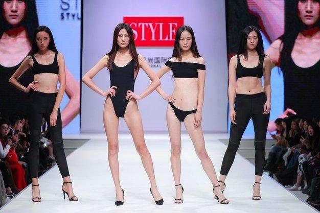 STYLE风尚国际模特大赛泳装环节
