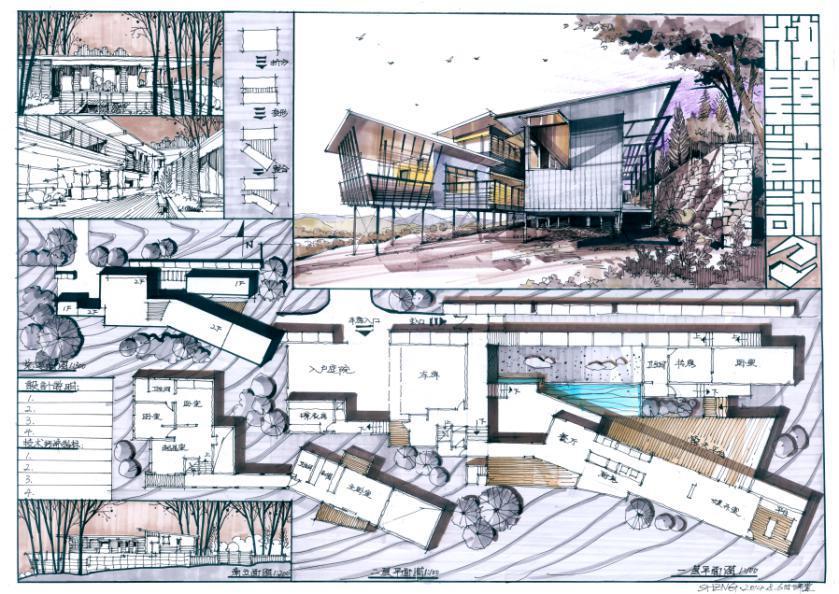 绘聚手绘设计研究中心(合伙人,课程研发负责人) 出版书籍: 《景观快题