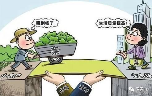 菜贱伤农的经济学原理_漫画 菜贱伤农 蕴含的经济生活道理有 ①市