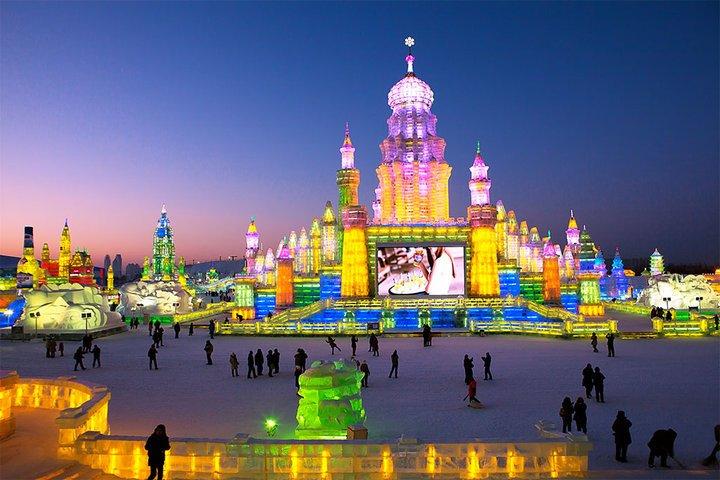去哈尔滨冰雪大世界_2018年哈尔滨冰雪大世界旅游攻略