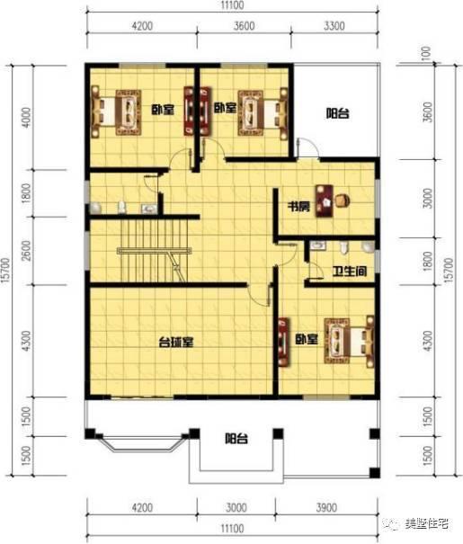 11米x12米房屋设计图