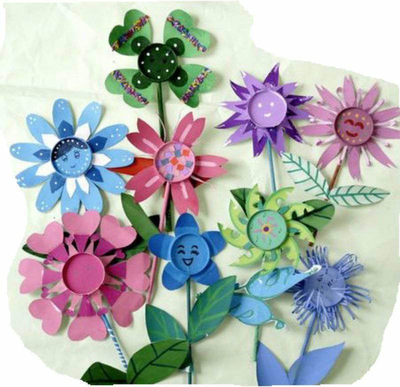 废品手工制作花