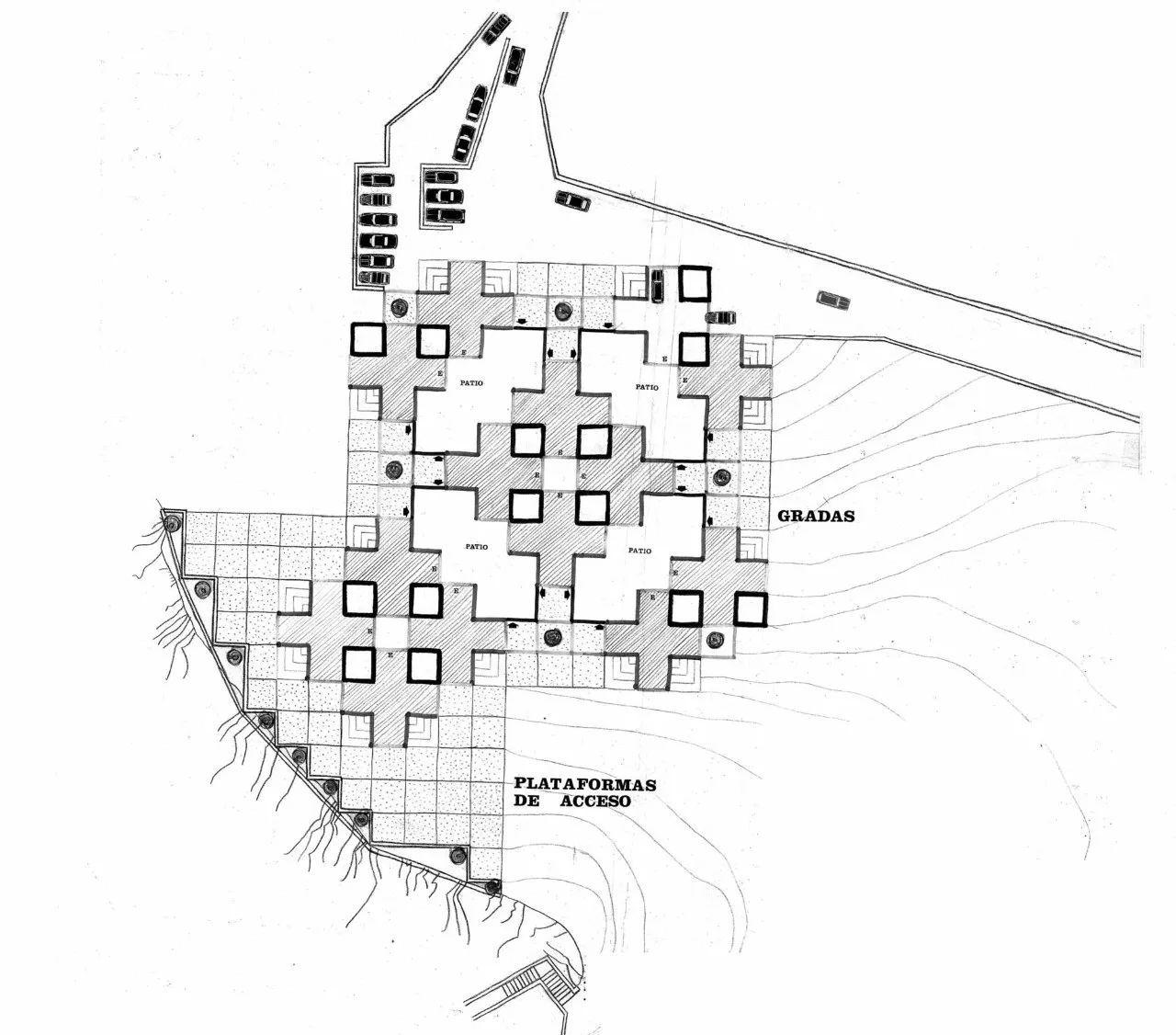 城堡建筑平面设计图