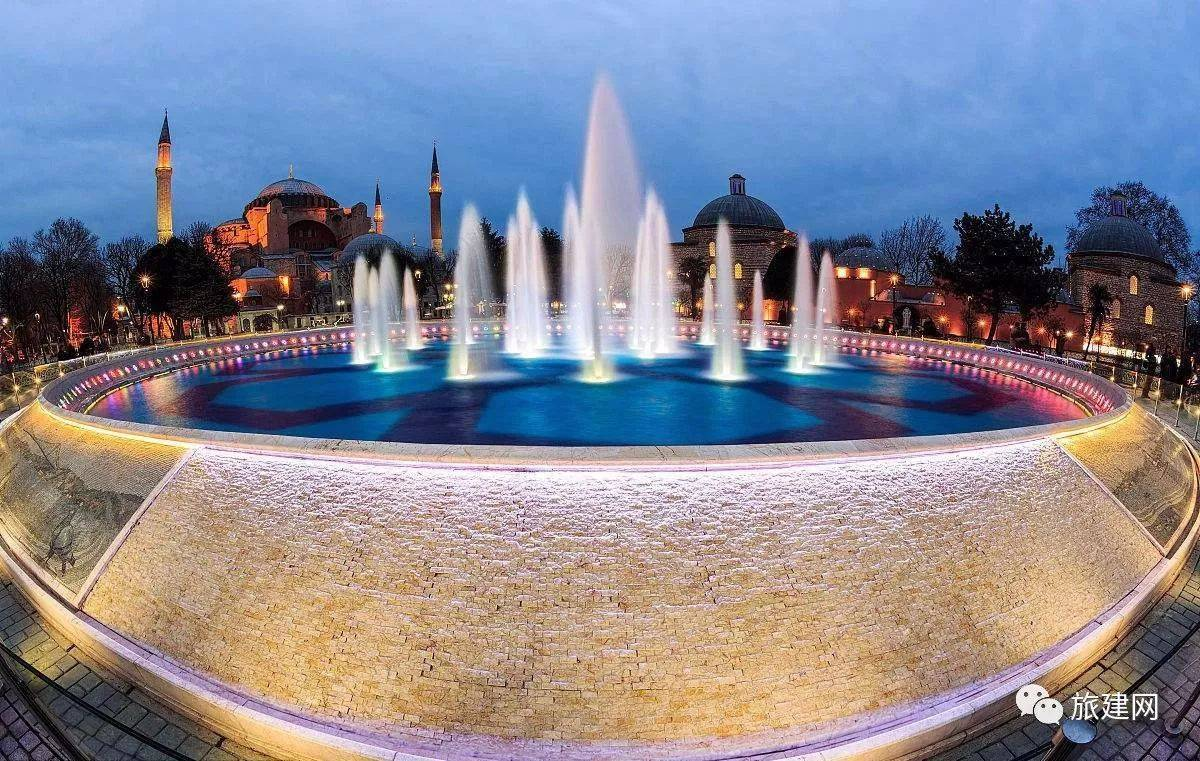 喷泉 图片