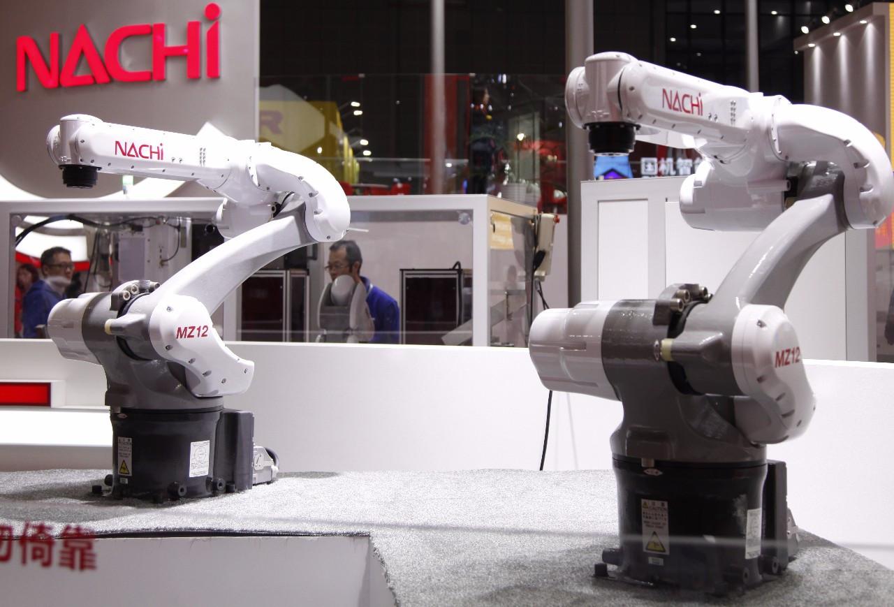 这些燃爆工博会的机器人,你都看了吗?图片