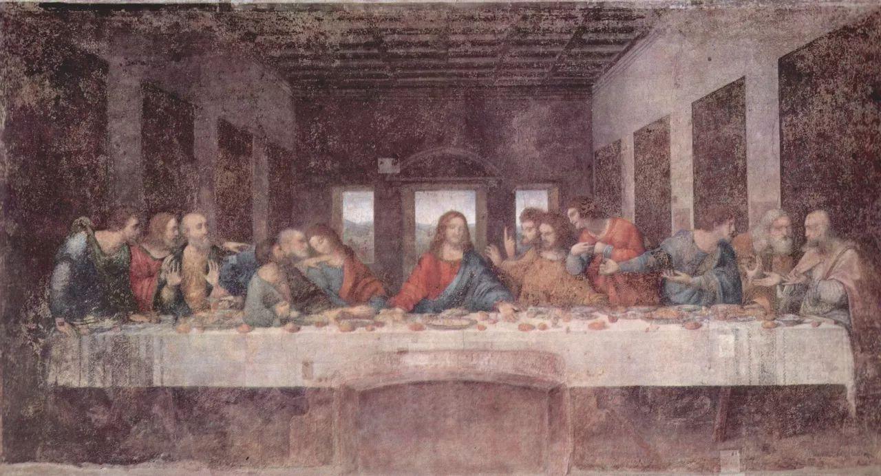 达芬奇名画《最后的晚餐》