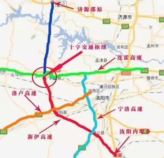 新伊高速路線示意圖圖片